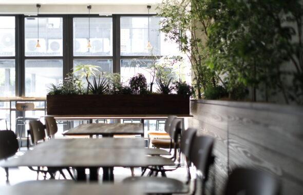 中目黒店のカフェ&チョコレート店