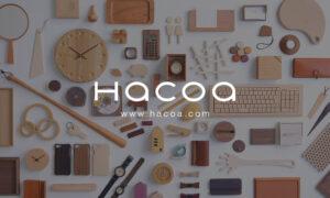 木製デザイン雑貨ブランドHacoa