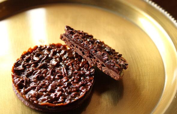 木の実のクッキー(ブラック)