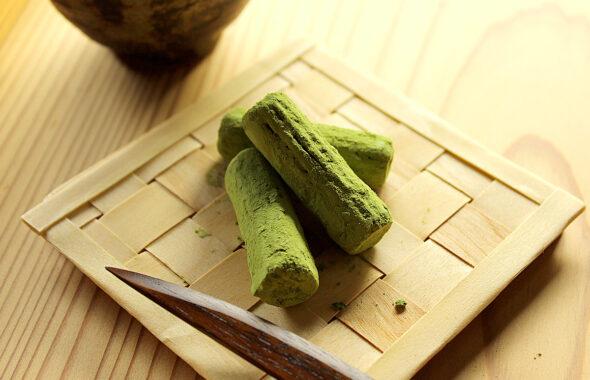 薪のトリュフ(抹茶)