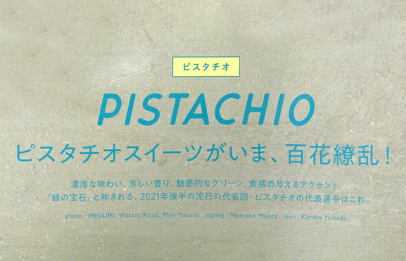 濃厚な味わい、芳しい香り、魅力的なグリーン、食感の与えるアクセント「緑の宝石」と称されるピスタチオ部門の代表選手